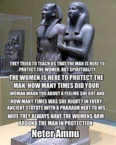 Of course. A Queen can't protect her King from afar.Great Royal Queen Khamerernebty II (Het-Heru) and Nesi (Pharaoh) Menkaure. Dynasty, Old Kingdom. (Spelling errors drive me crazy! The More You Know, Good To Know, Ancient Egypt, Ancient History, Black History Facts, Before Us, African American History, Things To Know, Fun Facts