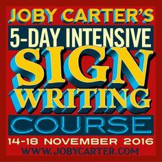 Signwriting & Fairground Art Courses