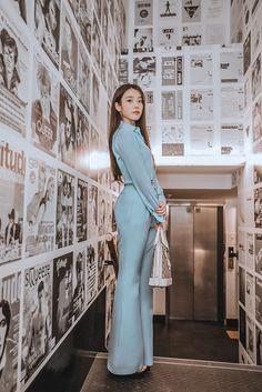 Iu Fashion, Couture Fashion, Korean Fashion, Luxury Fashion, Fashion Dresses, Vintage Dress Patterns, Vintage Dresses, Kpop Girl Groups, Kpop Girls