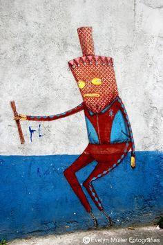 Os Gêmos - Grafite