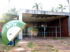 Piscina com Ondas no Parque da Cidade | retrato do abandono desde a década de 1980