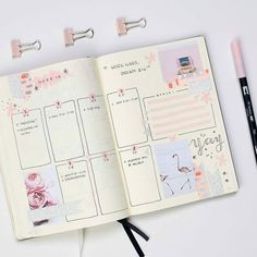 Amazing bullet journal weekly spread ideas to inspire your weekly planning! Creating your weekly bullet journal spread just got easier.