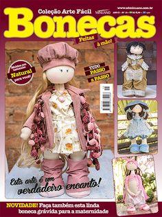 Artesanato - Bonecas : COL ARTE FACIL BONECAS 015 - Editora Minuano