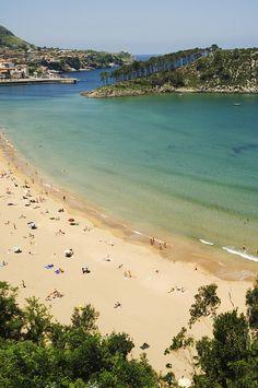 LEKEITIO´s BEACH....Playa Karraspio, (Mendexa - Bizkaia)