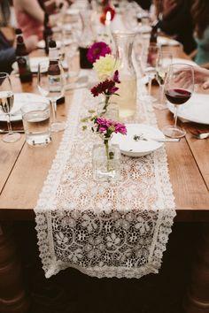 Vintage tablescape