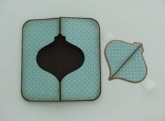 Hello! A few people asked me how I created the card in my previous posting , so this is a tutorial on a gate-fold card that has a sha...