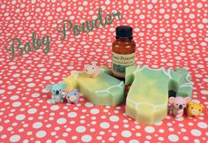 Melt & Pour - How to Make Tie-Dyed Baby Onesie Soap w/ 6 different scent suggestions! (I'm an adult and I would like these scents. - Deb)