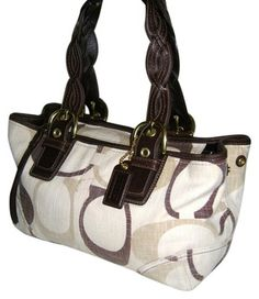 Coach Tote in Browns