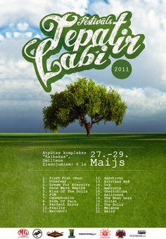 CLIENT: Smiltene Alternative  WORK: Festival Logo, Poster,Flyer  YEAR: 2010, 2011  DESIGN: Jānis Vērzemnieks