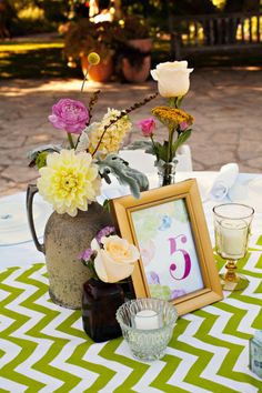 table setting.