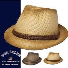 c61830608ed ANGELA   WILLIAM SUMMER FEDORA. Hats Forus