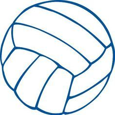 free printable volleyball clip art shape collage shapes rh pinterest com free volleyball clipart pictures free volleyball clipart images