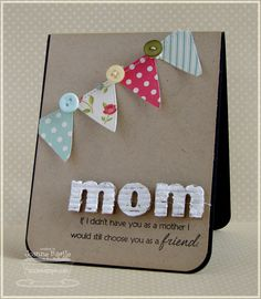 MFT - Clearly Sentimental about Mother's and Jumbo Banner Day STAX Die-namics