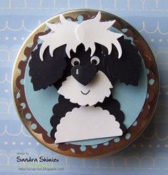 cute dog punch art - bjl