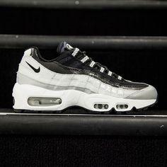 6a28ed1847342c Nike Women Air Max 95 Anniversary QS (silver   metallic platinum   black    white)