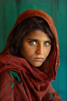 Haunted eyes tell of an Afghan refugee's fears -1985