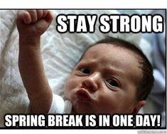 18 Memes About Spring Break 2018 - QuotesHumor.com
