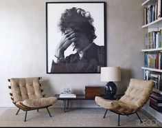 60s home + dylan. swoon.yeah you know this is an Erin kind of room!