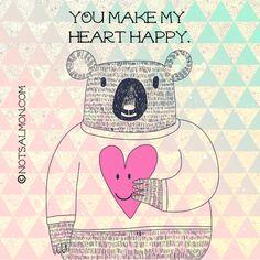 You made my heart happy. #appreciation #notsalmon