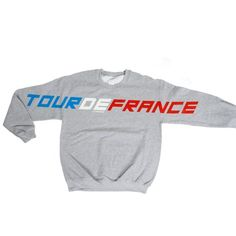 Tour de France Sweater #sweater #pullover #tourdefrance #lagarconne #mode #switzerland onyva.ch Switzerland, Sweatpants, Pullover, Sweaters, Fashion, Moda, Fashion Styles, Sweater, Sweater