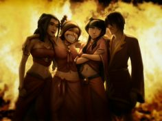 azula,ty lee,mai,zuko at the beach Photo: avatar the last airbender. This Photo was uploaded by sillybananagirl Avatar Aang, Team Avatar, Avatar The Last Airbender, Avatar Funny, Mai And Zuko, Prince Zuko, Ty Lee, Fire Nation, Thing 1