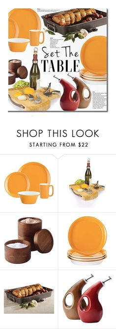 Superb  Set The Table by beebeely look liked on Polyvore featuring interior