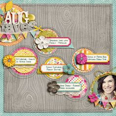 Add Contrast with Nuance to Scrapbook Pages with Split-Complementary Color Scheme - Scrapbooking ideas & free tutorials at Get It Scrapped
