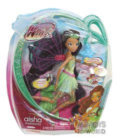 Winx Club Deluxe Fashion Doll - Aisha Harmonix -