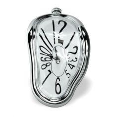 """Zegar Dalego """"Topniejący czas""""  #prezent #gadżet #dom #mieszkanie #design #dali #zegar"""