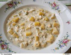 Koprová polévka bez mouky