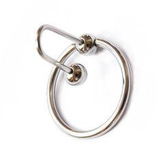 Steel Tool, Penisring Spermastopper Metal mit Ringe, Durchmesser 30 mm - Dilatoren - Kinkinky - Fetisch, BDSM, Toys und mehr http://marketingcenter.intimatetickles.biz