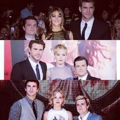 Hunger Games, Catching Fire, Mockingjay Part 1.