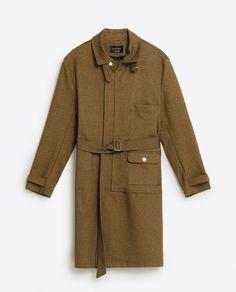 Bild 8 von FUNKTIONSMANTEL von Zara Zara, Mantel, Raincoat, Jackets, Fashion, Down Jackets, Moda, Fashion Styles