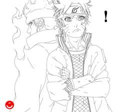 Naruto chapter 670(LineArt) by HollowCN on DeviantArt