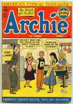 .Even had Archie paper dolls!!! :)  Always read Archie comics while Mother and Daddy were shopping at the Piggly Wiggly!