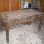Restauro di mobili | restauro di un tavolo in legno