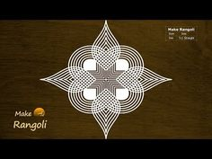"Thank You for watching Music Credits:""Royalty Free Music from Bensound"" All the content including hand Image published on this channel is our own creative wo. Rangoli Designs Flower, Rangoli Border Designs, Rangoli Ideas, Rangoli Designs Diwali, Rangoli Designs With Dots, Kolam Rangoli, Beautiful Rangoli Designs, Indian Rangoli, Rangoli Colours"