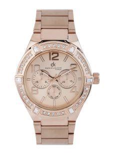 Daniel Klein Premium Women Rose Gold-Toned Dial Watch DK10522-2