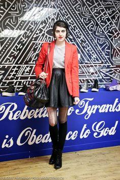 FASHION IS MY RELIGION: STREETSTYLE: Clin d'oeil Mode de Rue