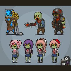 Arte Zombie, My Character, Character Concept, Goku Drawing, Pixel Art Games, Literature Club, Modern Warfare, Zombie Apocalypse, Alien Logo