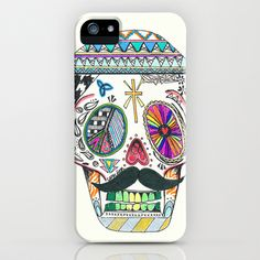 Can%27dy+Skull+iPhone+%26+iPod+Case+by+DAMNYEAHNICH+-+%2435.00