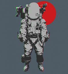 ArtStation - Astronauts, Eugene Postebaylo