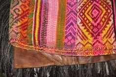 Mapuche saddle blanket