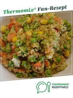 Schnelles Quinoa-Gemüse von Die Maren. Ein Thermomix ® Rezept aus der Kategorie Hauptgerichte mit Gemüse auf www.rezeptwelt.de, der Thermomix ® Community.
