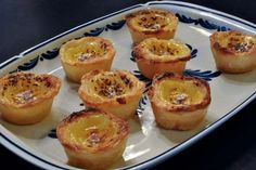 Pastéis de Nata [Portuguese custard tarts] - you also find them in Chinese restaurants! Recipe included! via Leite's Culinaria