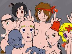The Binding Of Isaac Characters by Tuki-sama on Deviantart