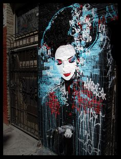 Street art in San Francisco where is could it possibility be!! Think about it... love it..
