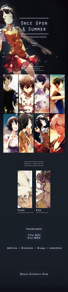 Once Upon a Summer / Zankyou no Terror Fanbook by 210793
