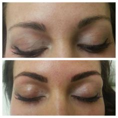 Semi Permanent Makeup is great option for all ages alike! Book a consultation for Semi Perm Brows, Lip Liner, and Eyeliner at Vinnieandjune.com! #semipermmakeup #tattoo #brows