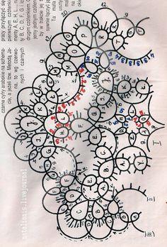 Всем, кто вяжет, дарю старые идеи для новых работ. Tatted ornament for the Christmas tree ~!~